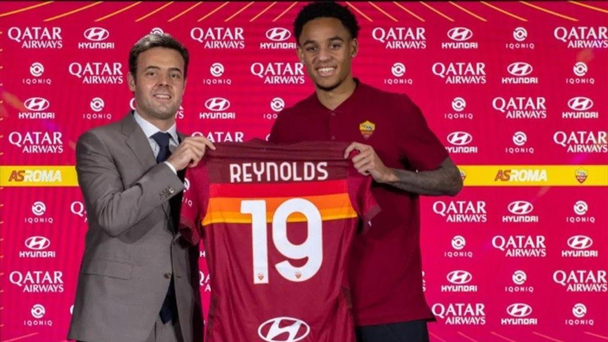Reynolds-Roma - Serie A 2020/2021 - credit foto: ASRoma.com (sito ufficiale della Roma)