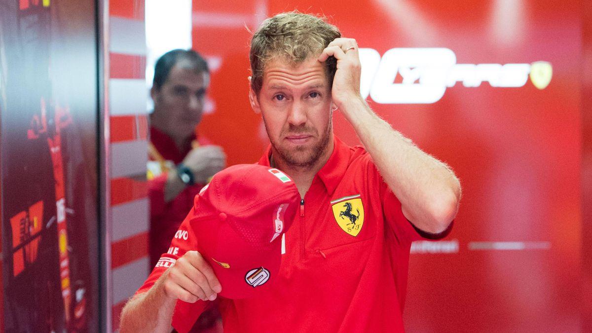Sebastian Vettel fährt 2020 sein sechstes und letztes Jahr mit Ferrari