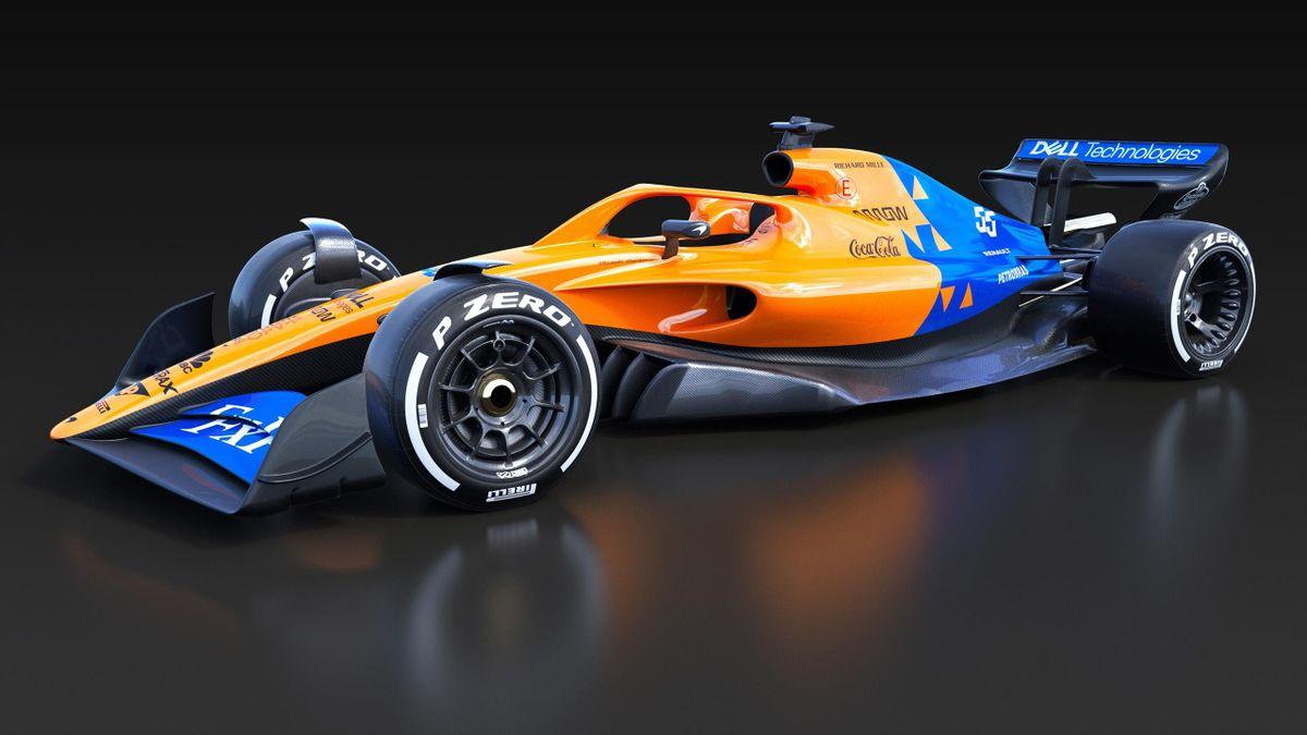 McLaren F1 unveil their concept for the 2021 car
