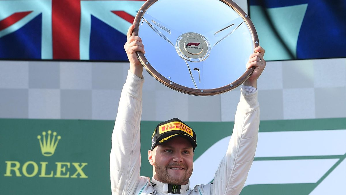 Valtteri Bottas after the Australian Grand Prix