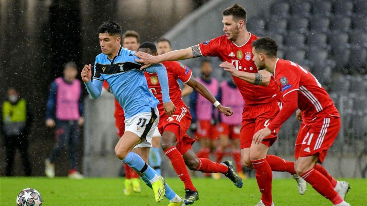 Joaquin Correa - Bayern Monaco-Lazio Champions League 2020-21
