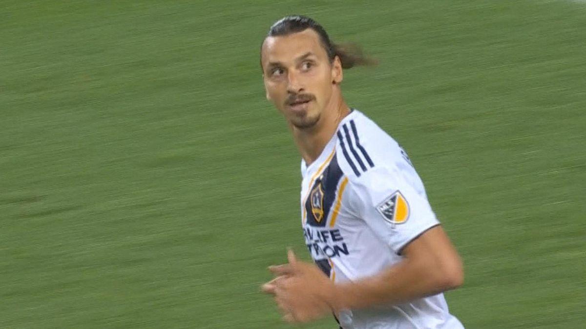 MLS - Toronto FC vs. LA Galaxy - Zlatan Ibrahimovic Goal 43'