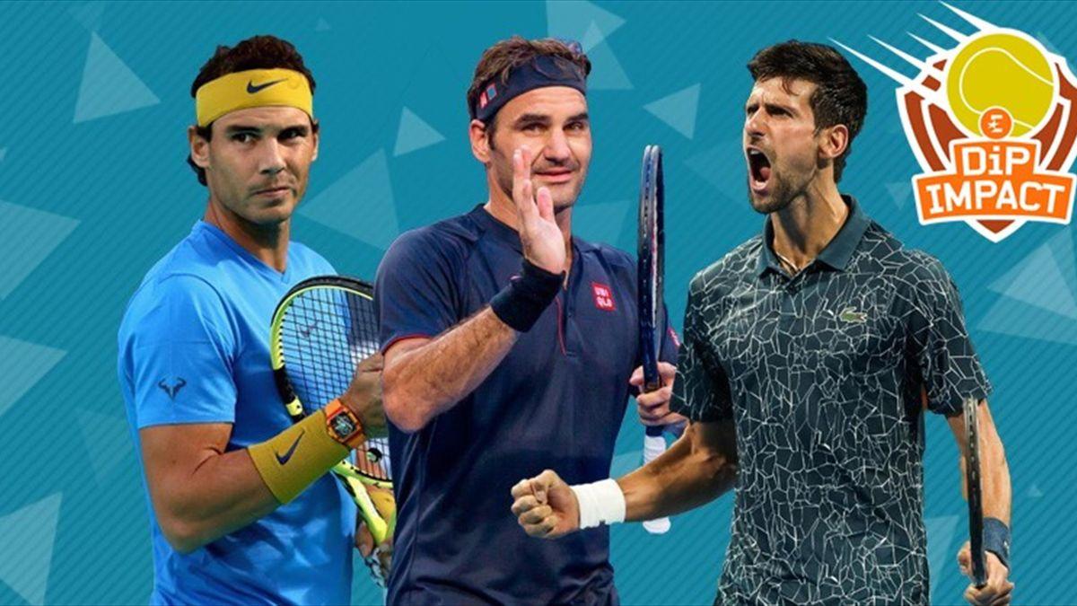 Federer - Nadal - Djokovic