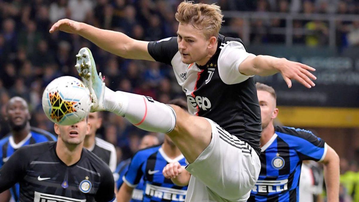 de Ligt, Lautaro - Inter-Juventus - Serie A 2019/2020 - Getty Images
