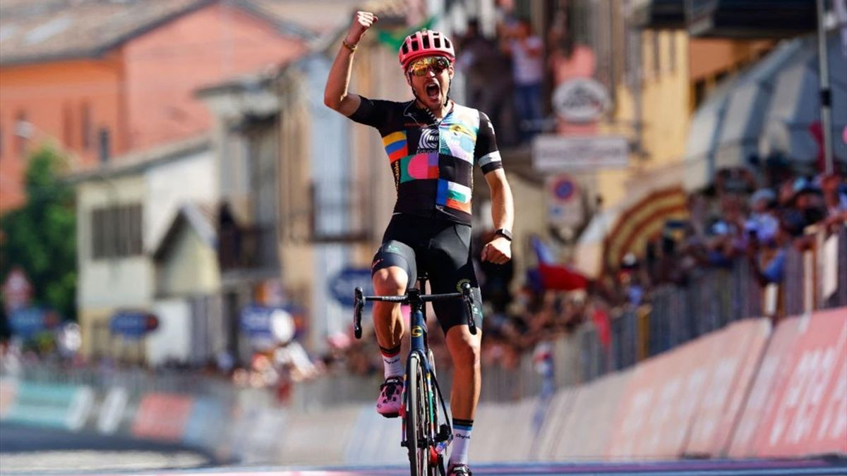 Alberto Bettiol a câștigat etapa a 18-a din Giro