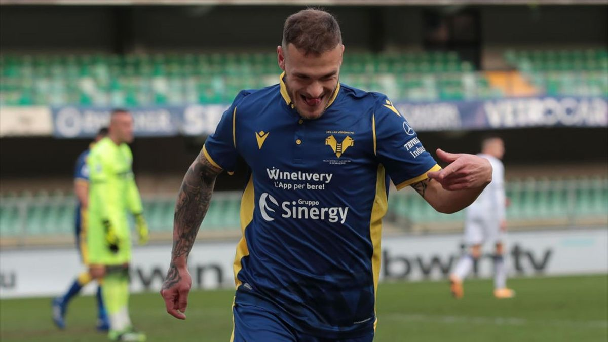 Federico Dimarco - Verona-Crotone Serie A 2020-21