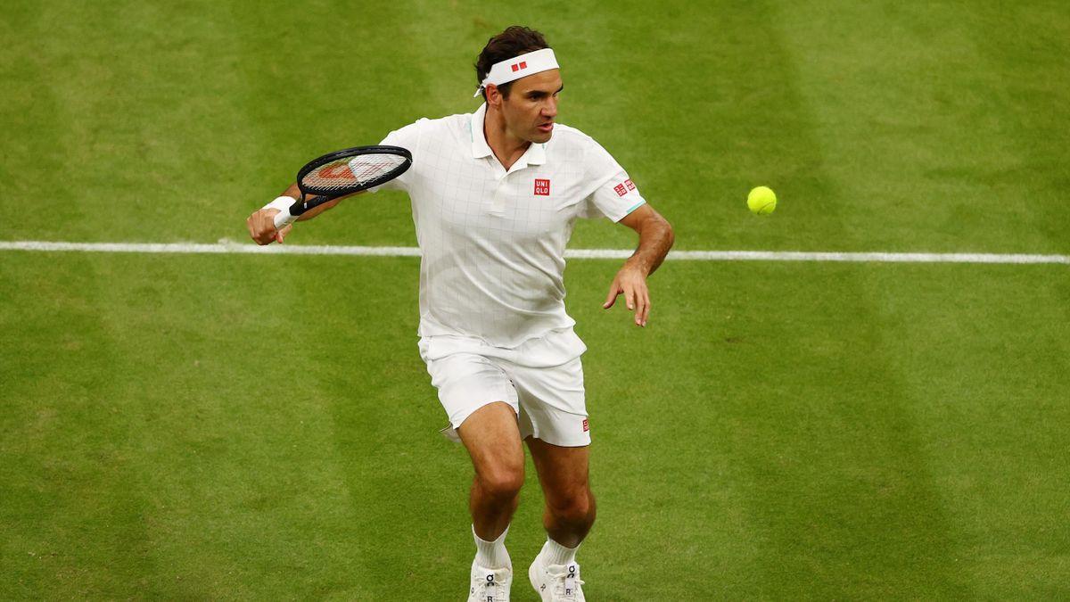 Roger Federer in Wimbledon