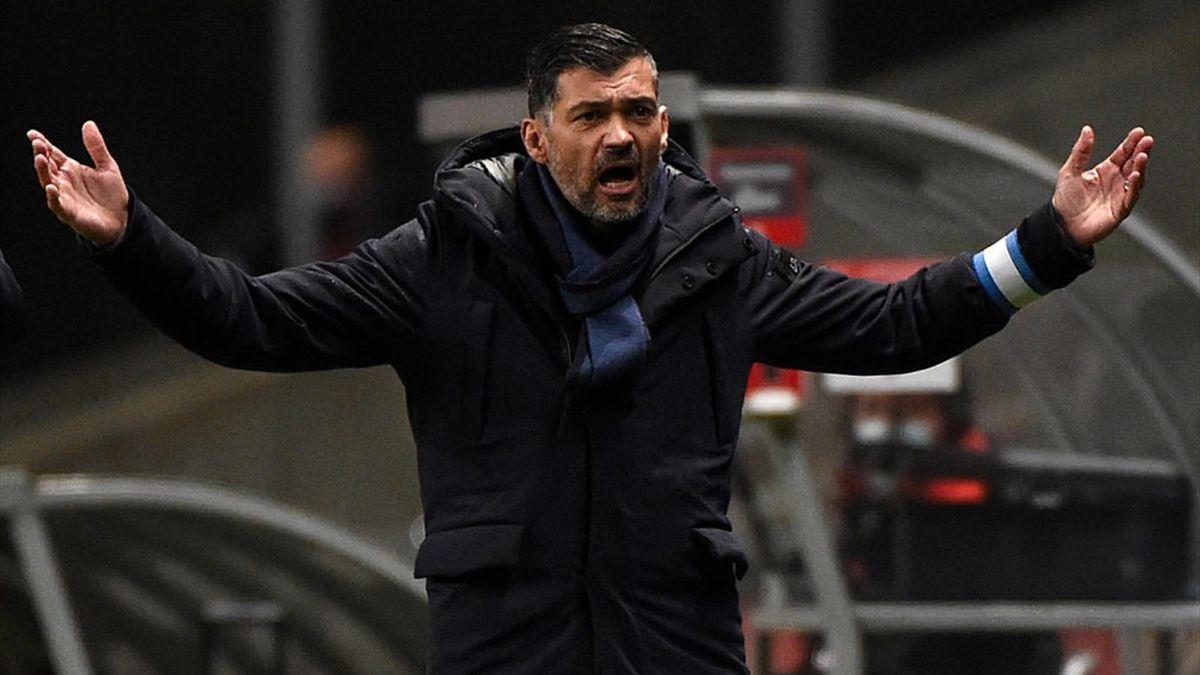 Sérgio Conceição - Sporting Braga-Porto - Liga NOS 2020/2021 - Getty Images