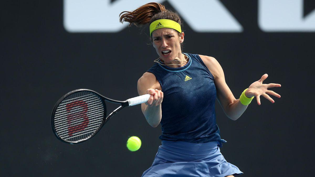 Andrea Petkovic ist bei der Phillip Island Trophy in Melbourne wie schon bei den Australian Open in der ersten Runde gescheitert