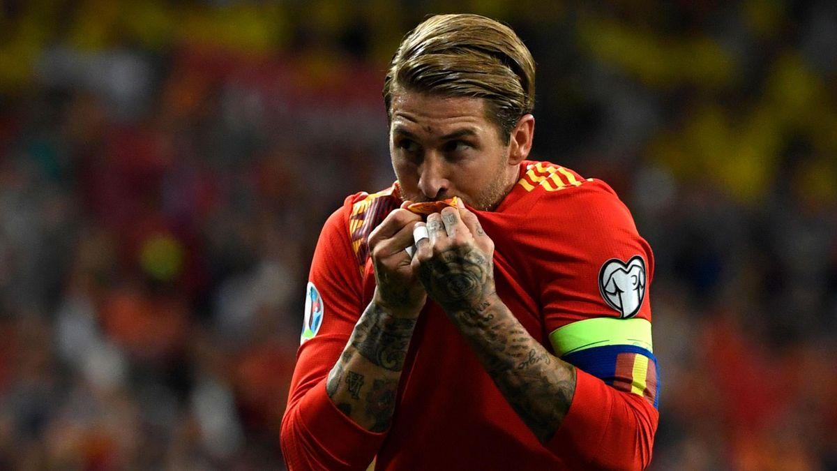 Sergio Ramos nu va juca pentru Spania la EURO