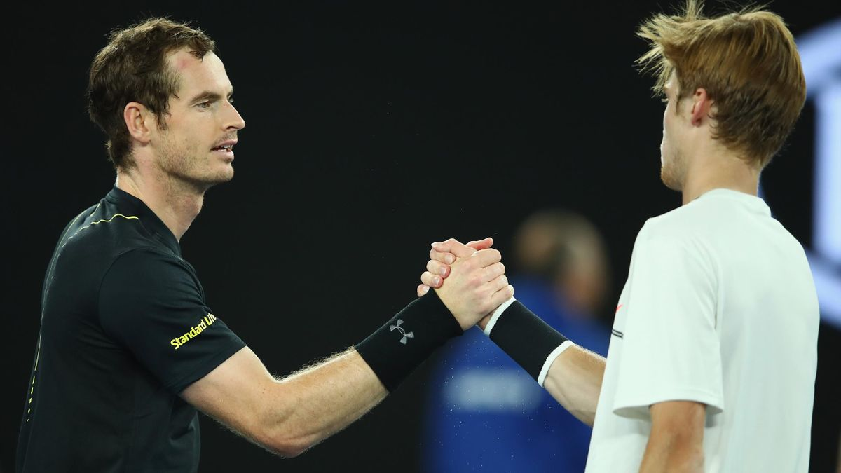 Andy Murray and Andrey Rublev last met at the 2017 Australian Open