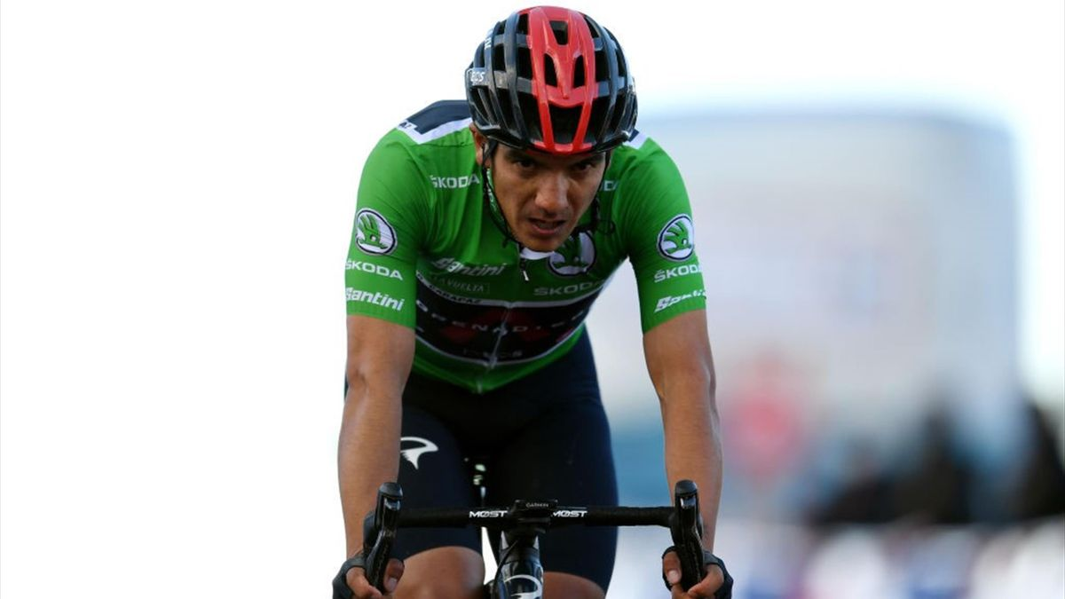 Richard Carapaz - Vuelta 2020, stage 17 - Getty Images
