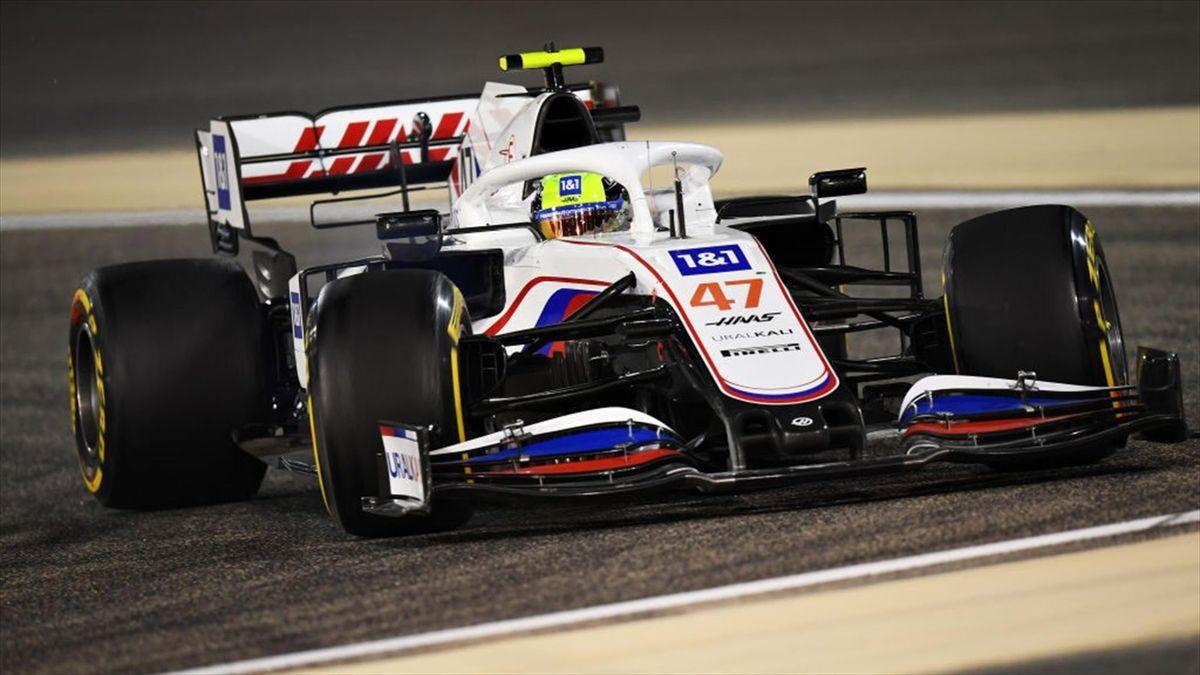 Mick Schumacher beim ersten Saisonrennen in Bahrain