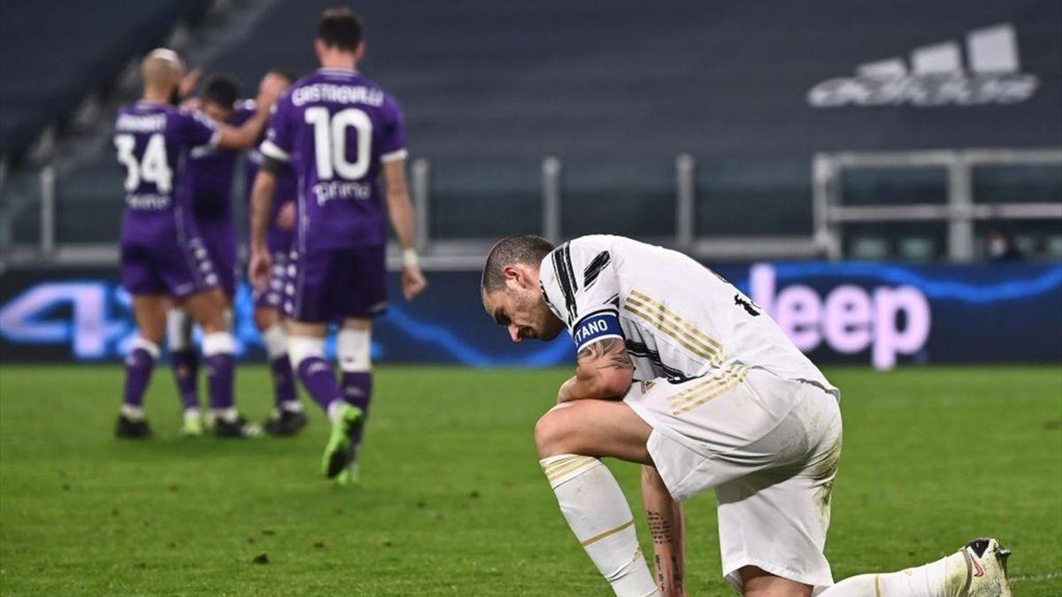 Bonucci - Juventus-Fiorentina - Serie A 2020/2021 - Getty Images