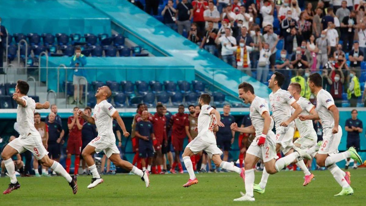 Spanien schlägt die Schweiz und steht im Halbfinale