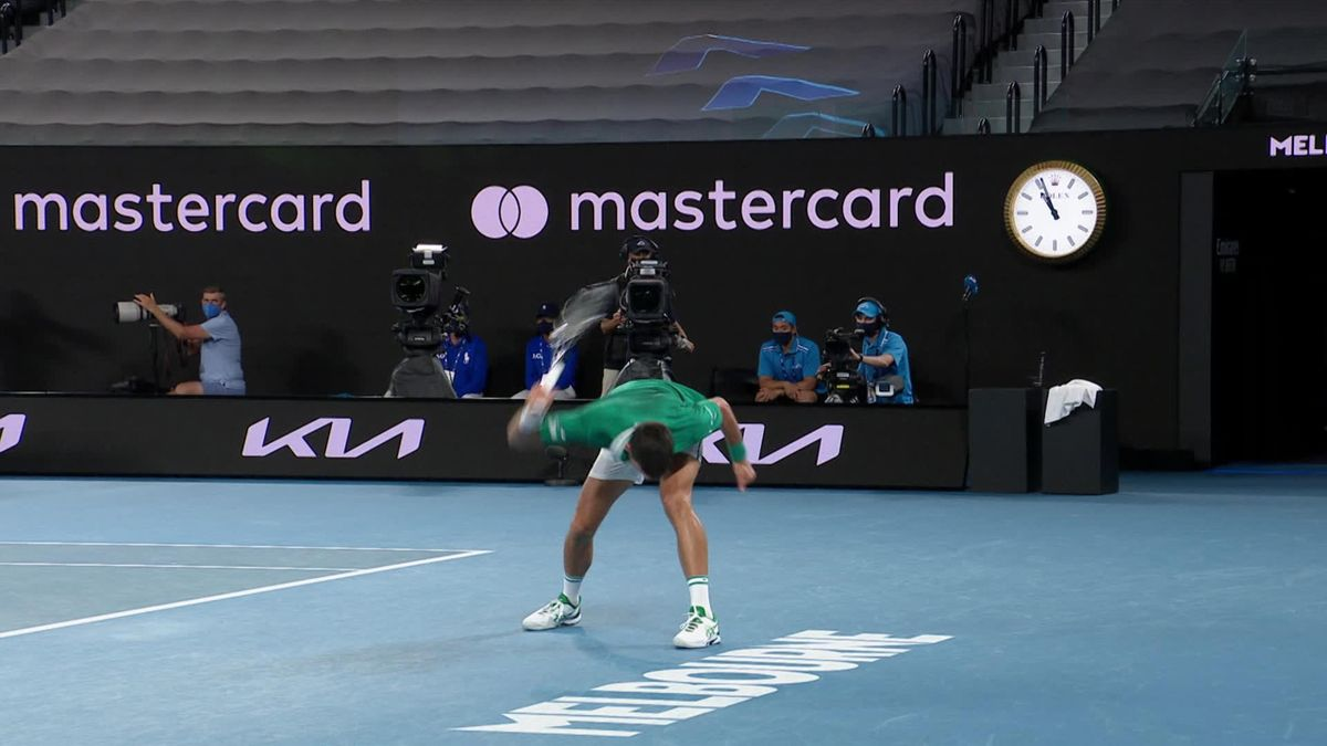 'Wow!' - Raging Djokovic destroys racket in furious reaction