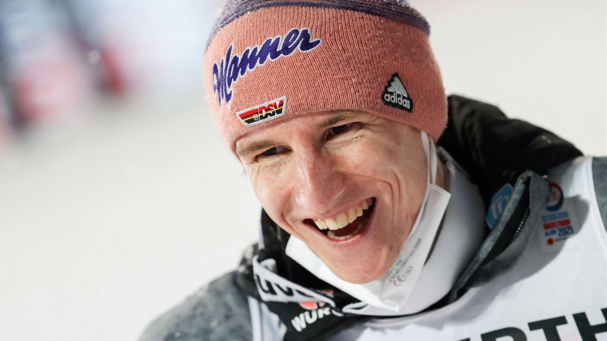 Karl Geiger hat bereits drei WM-Medaillen in Oberstdorf gewonnen