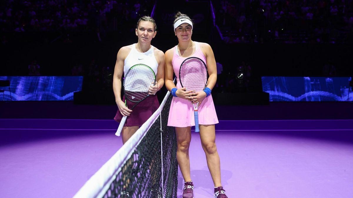 Bianca Andreescu & Simona Halep