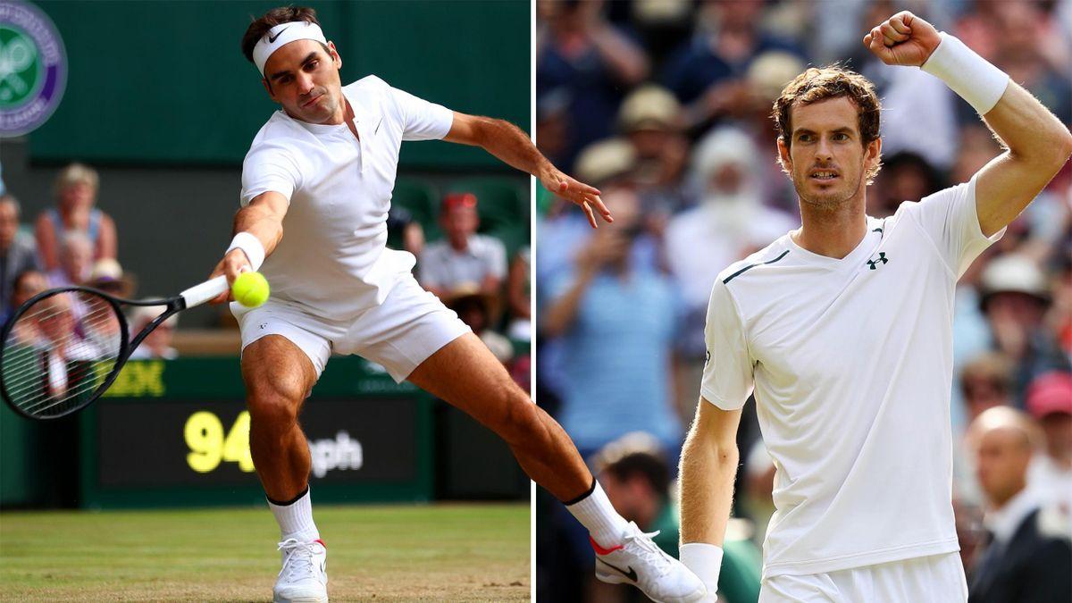 Federer und Murray