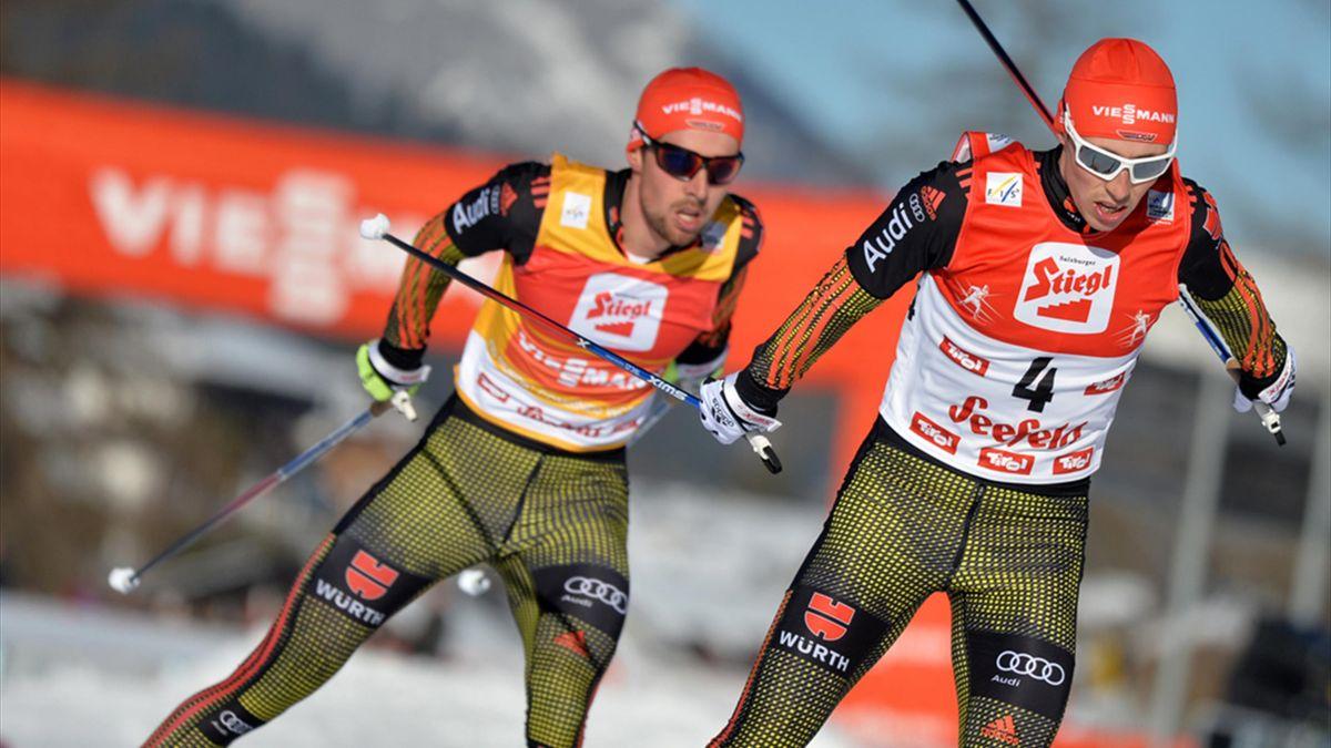 Johannes Rydzek und Eric Frenzel