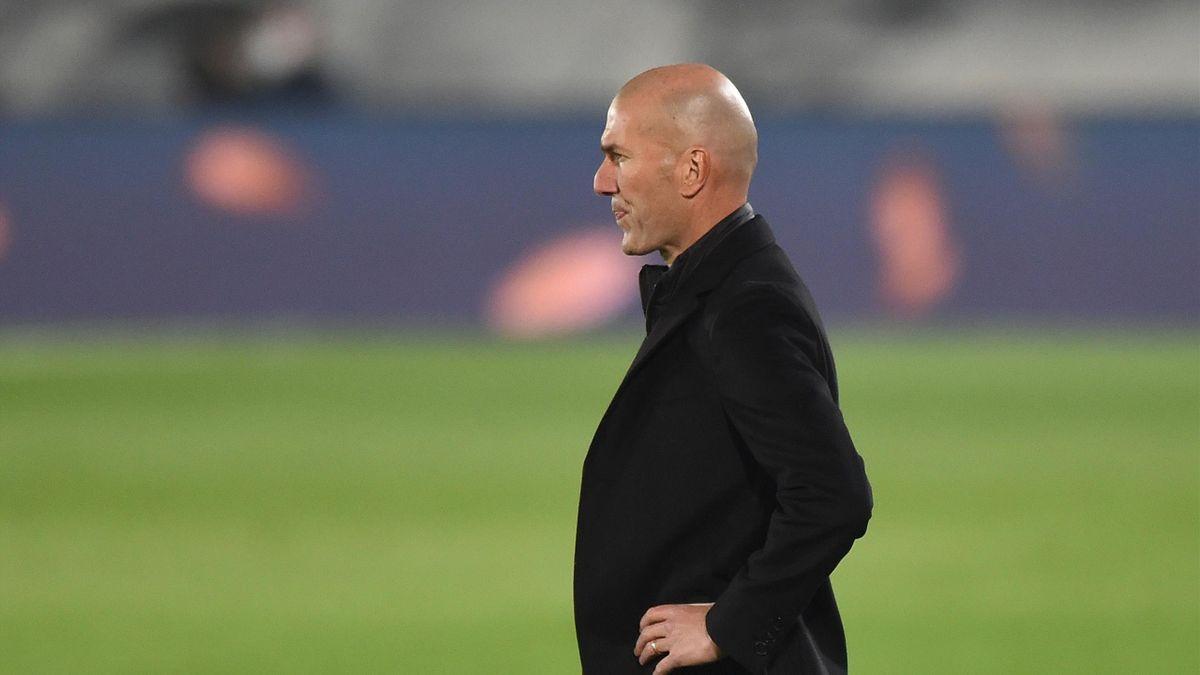 Zinedine Zidane, l'entraîneur du Real Madrid