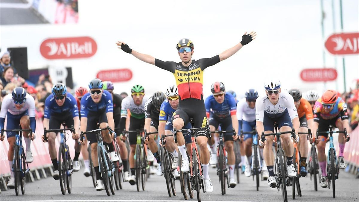Tour of Britain | Van Aert sprint naar zowel dagsucces als eindwinst