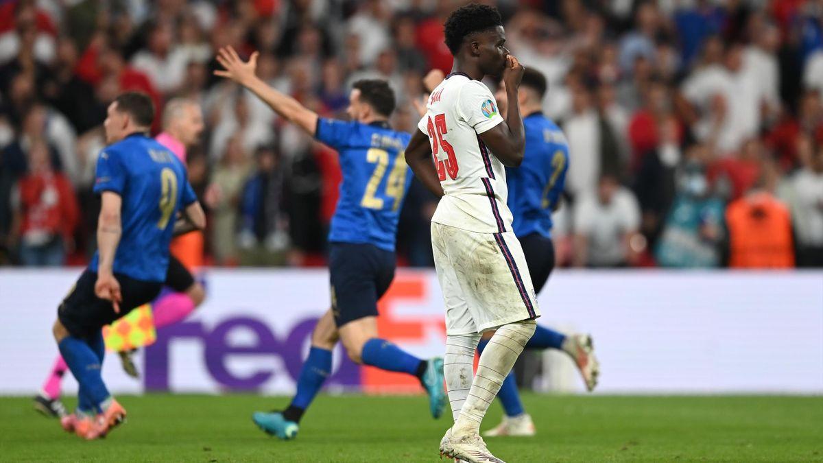 Bukayo Saka a ratat penalty-ul decisiv contra Italeii, în finala EURO 2020