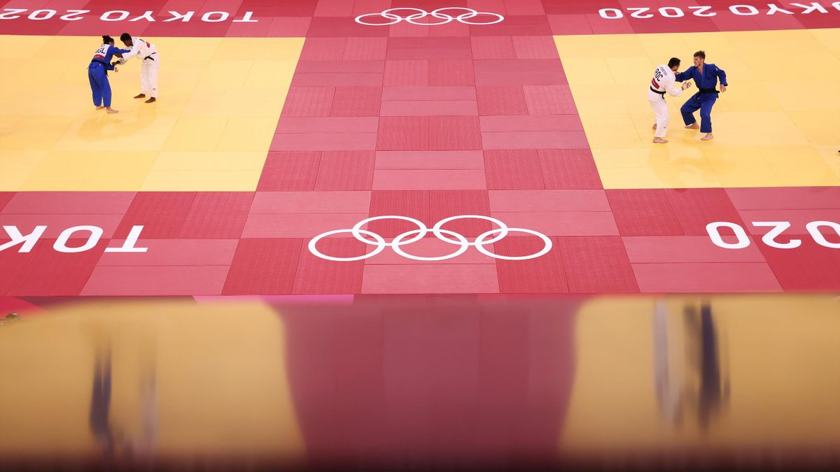 A general view on day four of the Tokyo 2020 Olympic Games at Nippon Budokan on July 27, 2021 in Tokyo, Japan. (Photo by Harry How/Getty Images)