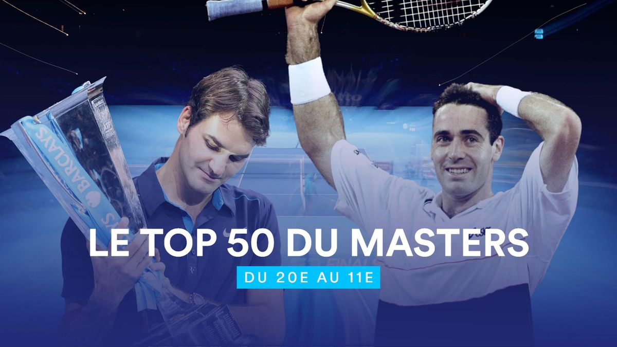 Le Top 50 du Masters