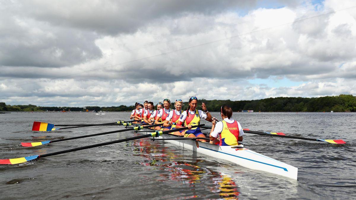 Echipajul de 8+1 al României, aur la Campionatele Europene