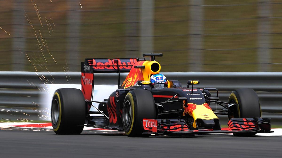 Daniel Ricciardo (Red Bull) à Sepang