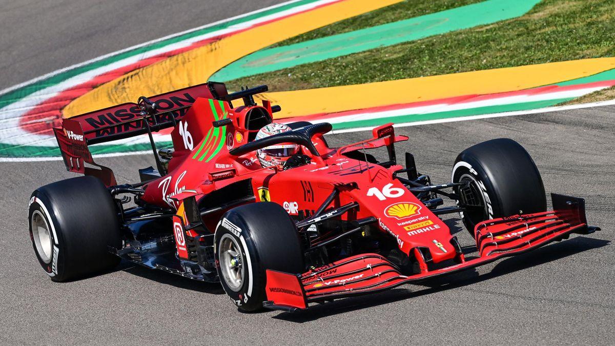 Charles Leclerc (Ferrari) in Imola