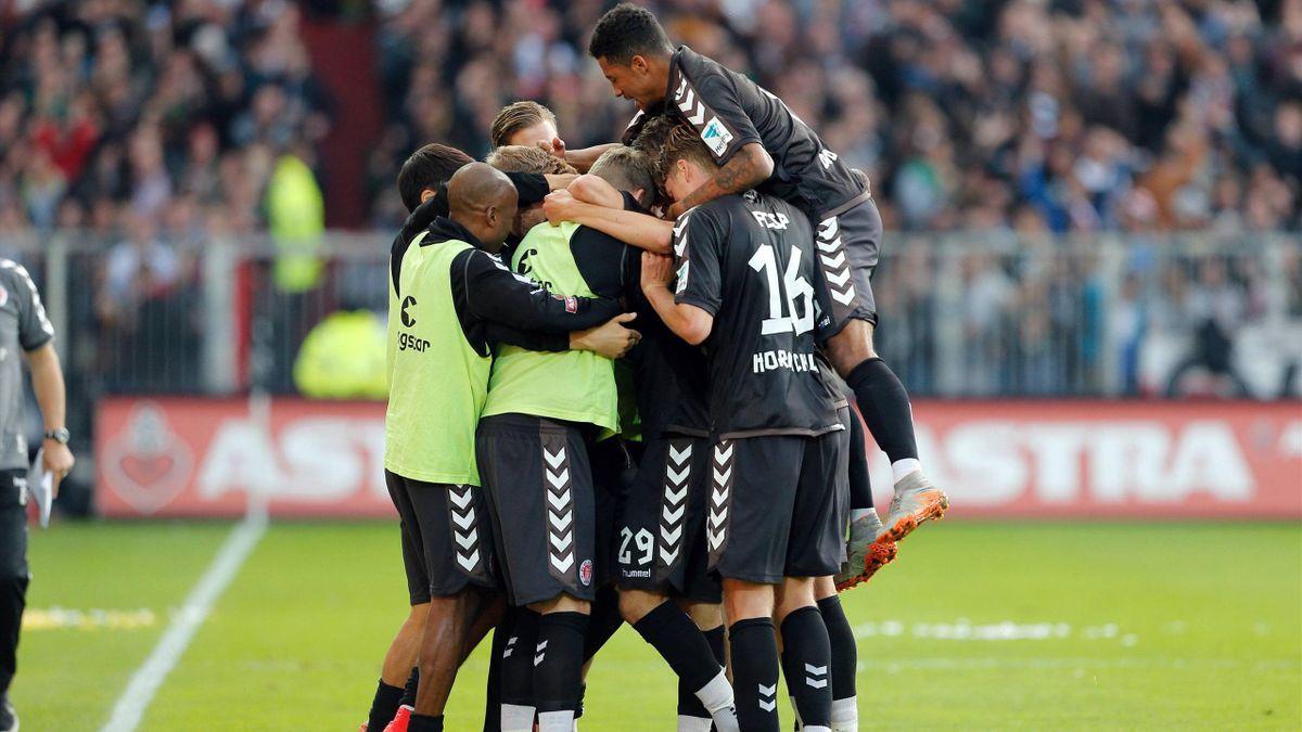 Setzen sich in der Spitzengruppe fest: FC St.Pauli