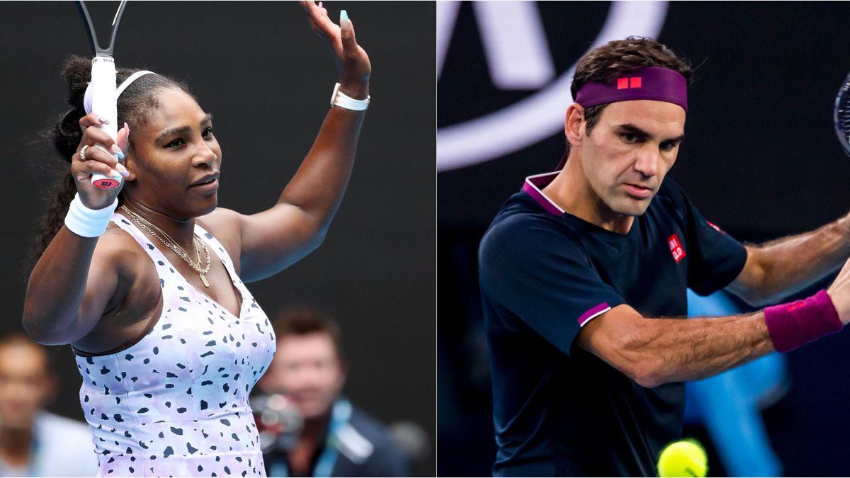 Serena Williams Roger Federer