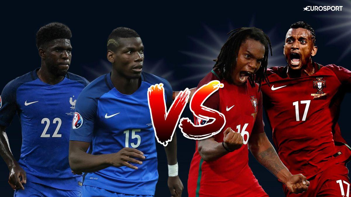 Visuel Une duel France-Portugal