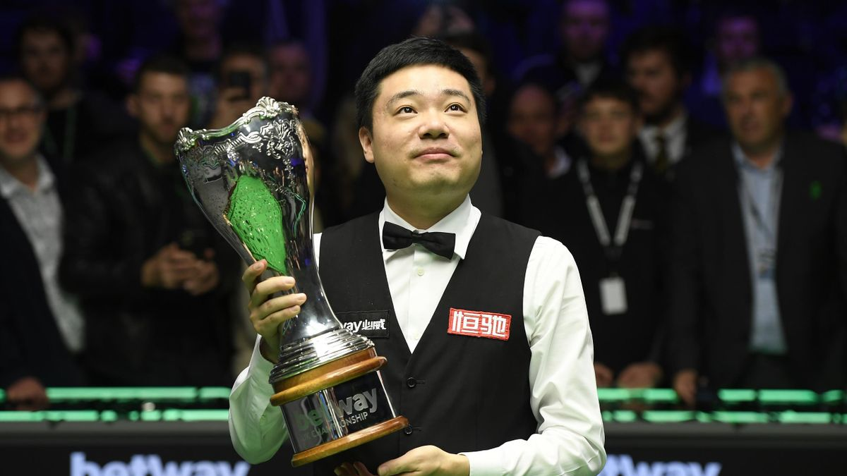 Ding Junhui, UK Championship winner