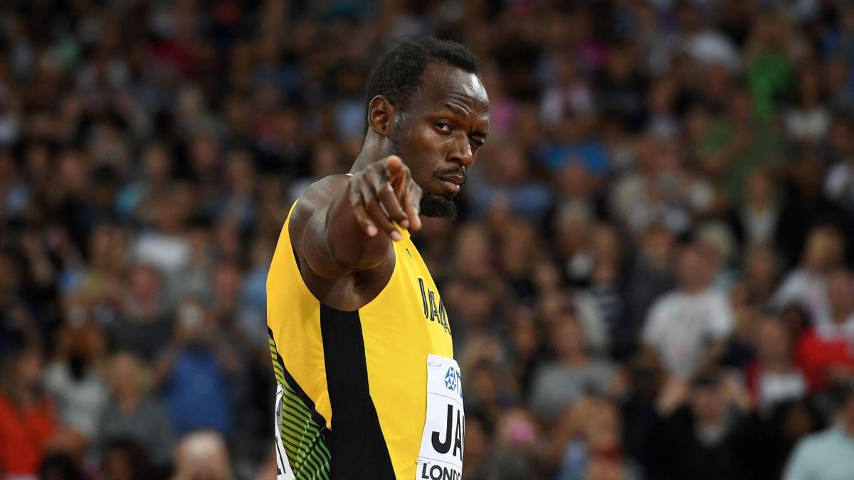 Usain Bolt dans ses dernières facéties