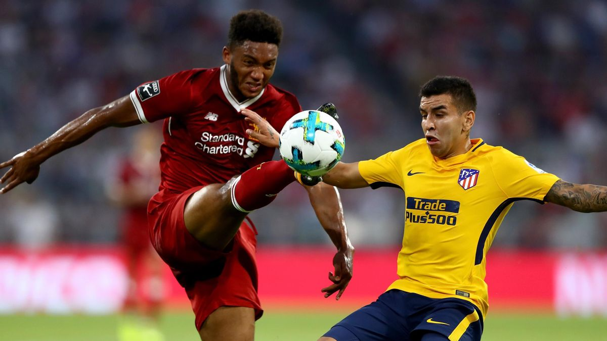 Liverpool gegen Atletico beim Audi Cup