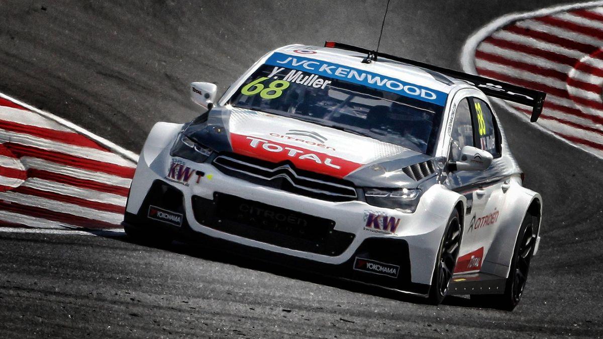 Yvan Muller startet auf dem Slovakiaring von der Pole Position