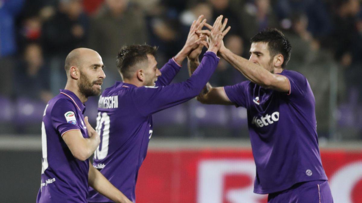 Borja Valero - Fiorentina-Udinese - Serie A 2017