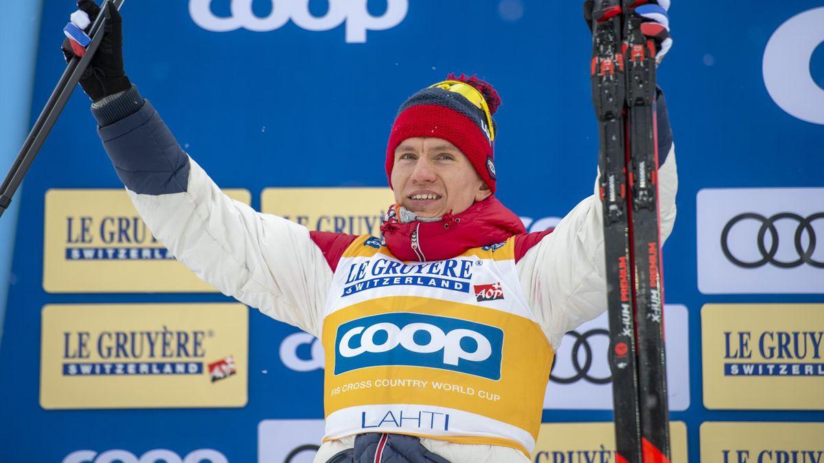 Александр Большунов, Россия