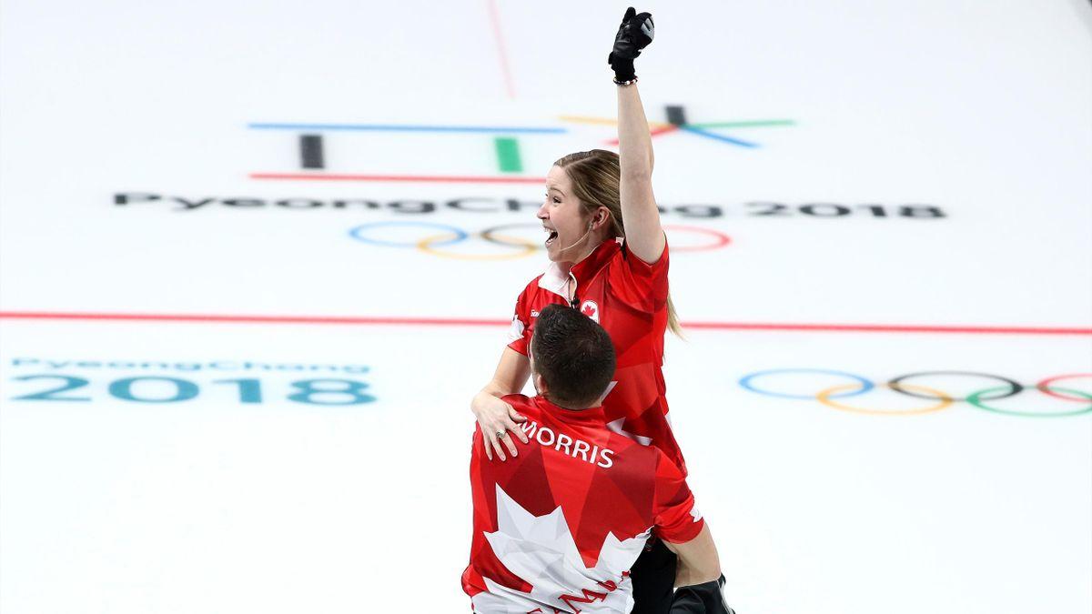 Olympia 2018: Kanada gewinnt die Mixed-Doubles