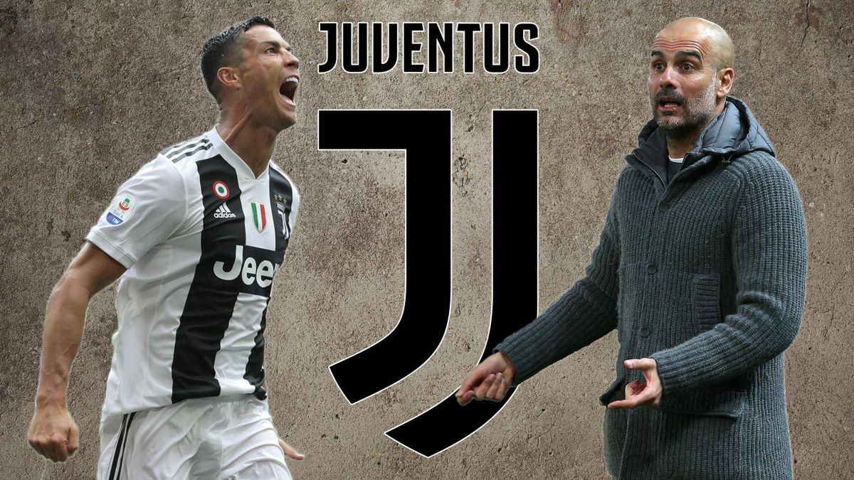 Cristiano Ronaldo, Pep Guardiola, Juventus