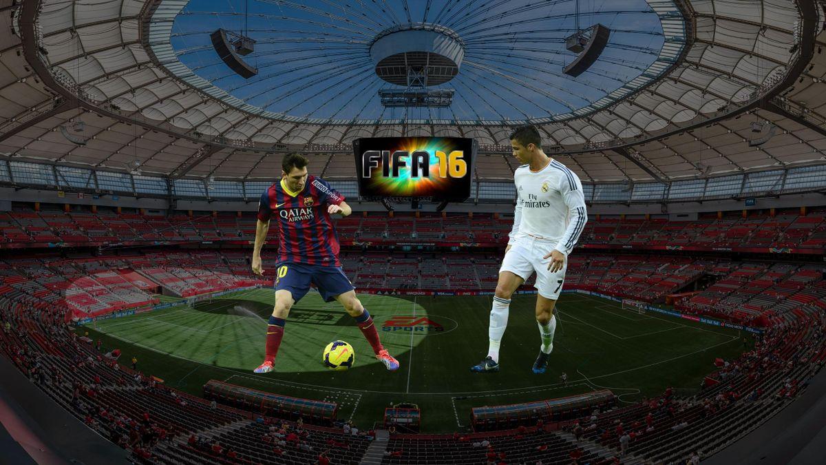 EA Canada, FIFA 16: Месси, Роналду
