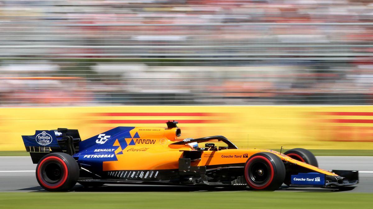 Carlos Sainz (McLaren) au Grand Prix du Canada 2019