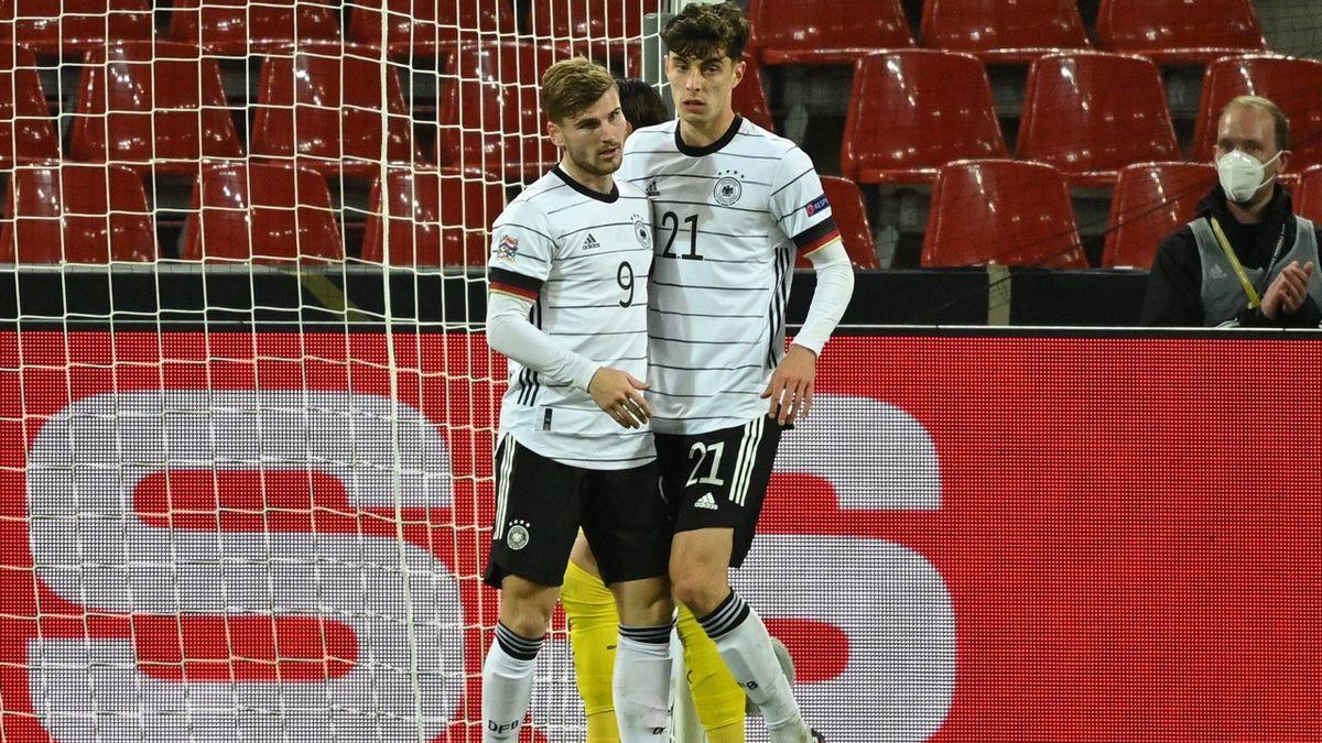 Timo Werner und Kai Havertz - Deutschland