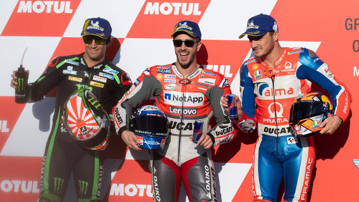 Johann Zarco, Andrea Dovizioso, Jack Miller, GP Giappone, MotoGP, Getty Images