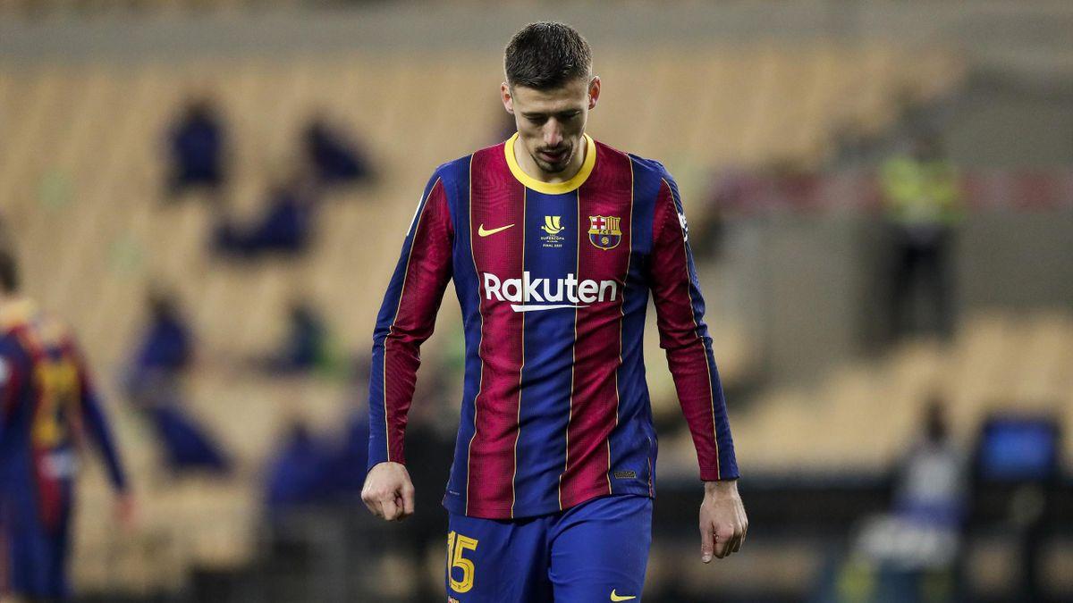 Clément Lenglet, en difficulté avec le FC Barcelone
