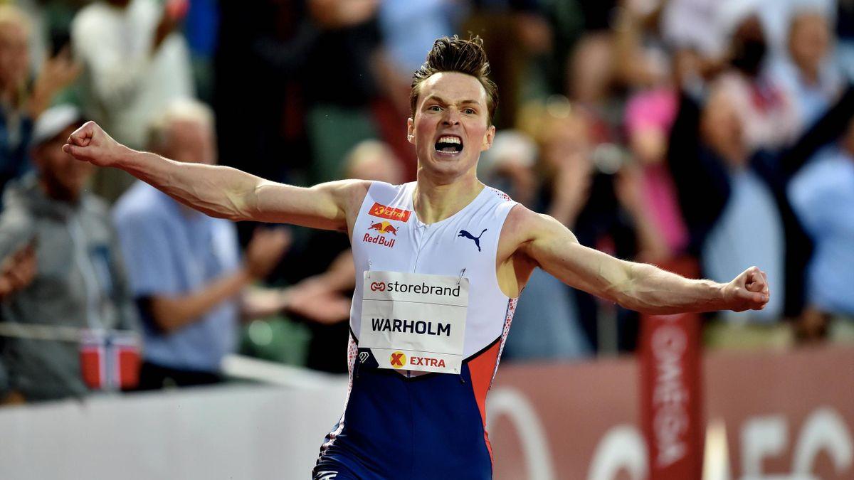 Diamond League, Karsten Warholm , New Word Record , 400 m h.