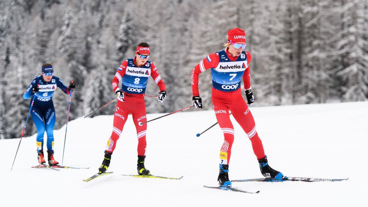 Юлия Ступак и Татьяна Сорина на «Тур де Ски»